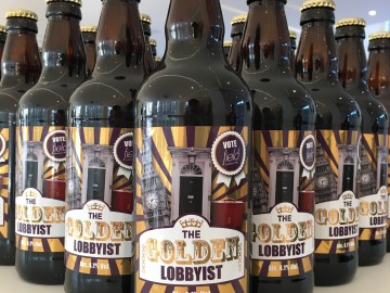 Field Consulting unveils lobbying's first ever official beer